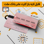 فایل لایه باز کارت عابر بانک ملت